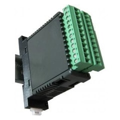 DIN Rail Mount Controller menu picture