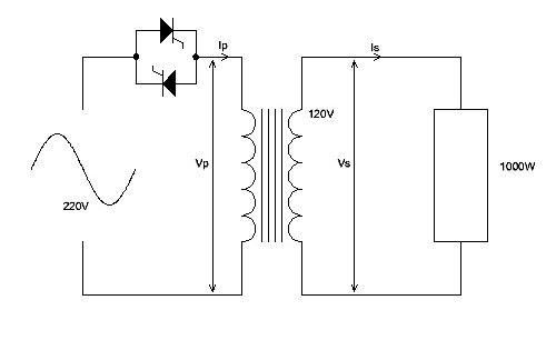 thyristor control of silicon carbide heaters