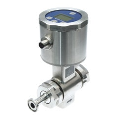 Hygienic Design Magnetic-Inductive Flow Measurement menu picture