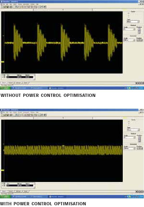 Before and after REVO-PC power management